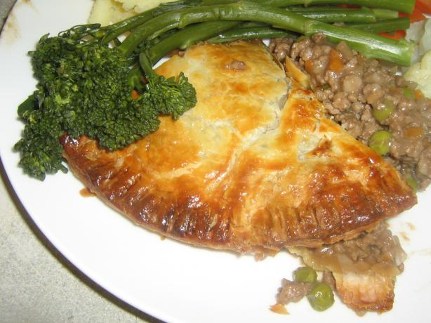 Easy Beef and Guinness Pie