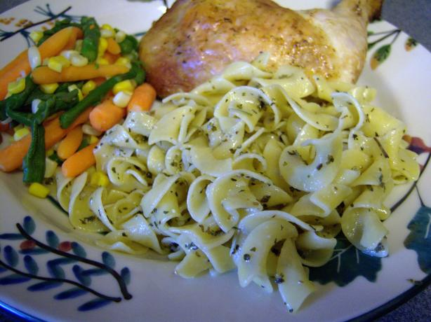 Butter & Herb Noodles