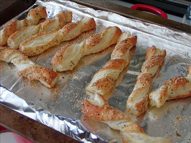 Puff Pastry Cheese Stick Appetizers