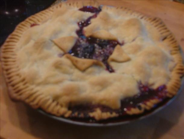 Blackberry-Raspberry Pie