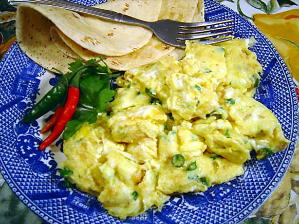 Ekuri - Spicy Scrambled Eggs