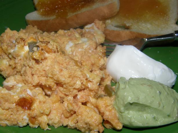 Spicy Scrambled Eggs (A.k.a. Ugly Eggs)