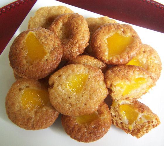 Peach Ricotta Mini Loaves