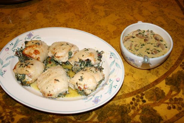 Italian Stuffed Chicken Breasts