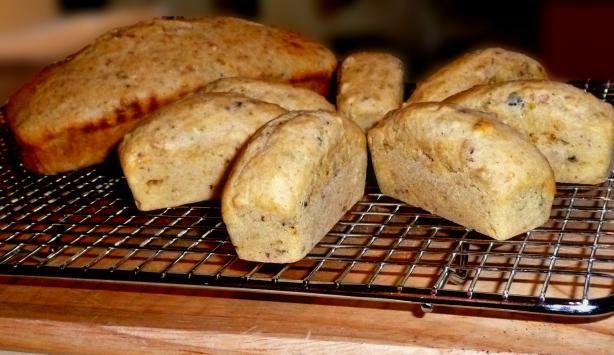 Savory Pistachio Mini Loaves