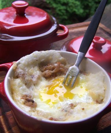 Southern Eggs En Cocotte