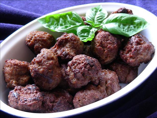 Spicy Speculaar Dutch Meatballs