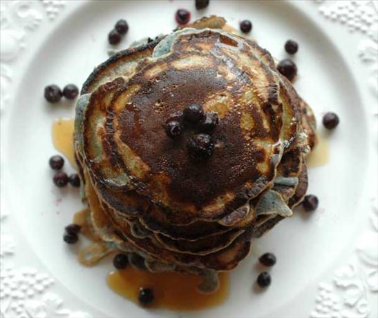 Blueberry Pancakes, Milk-free, Egg-free