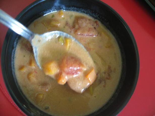 Vegetarian African Peanut Soup