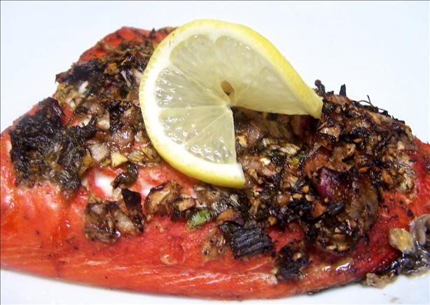 Cedar-Planked BBQ Salmon