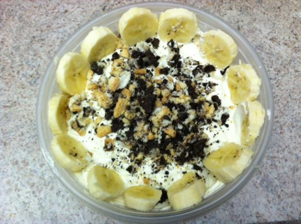 Oreo Banana Dessert