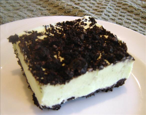 Frozen Pistachio Cookie Dessert