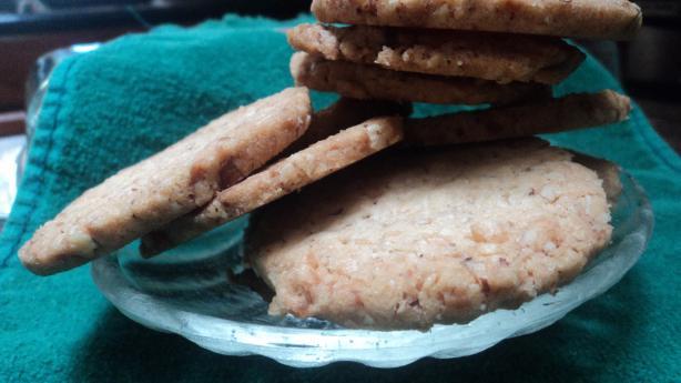 Macadamia Coconut Slice & Bake Cookies