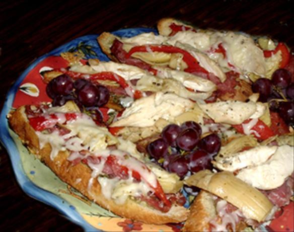 Chicken - Artichoke Sandwiches