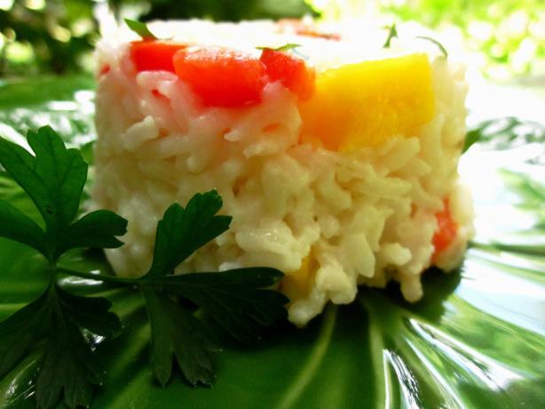 Coconut Mango Rice