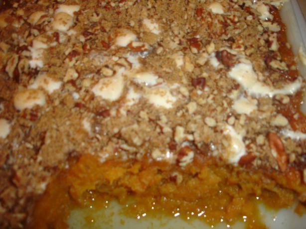 Queen Puff's Sweet Potato Casserole