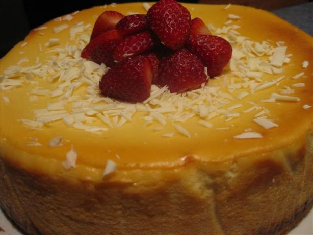 Orange New York Cheesecake