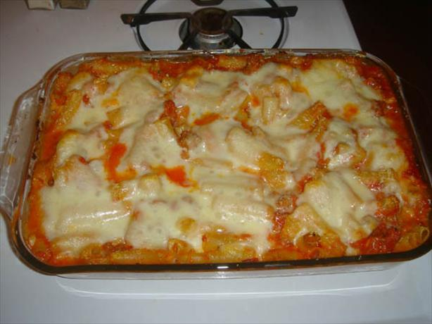 Authentic Baked Ziti