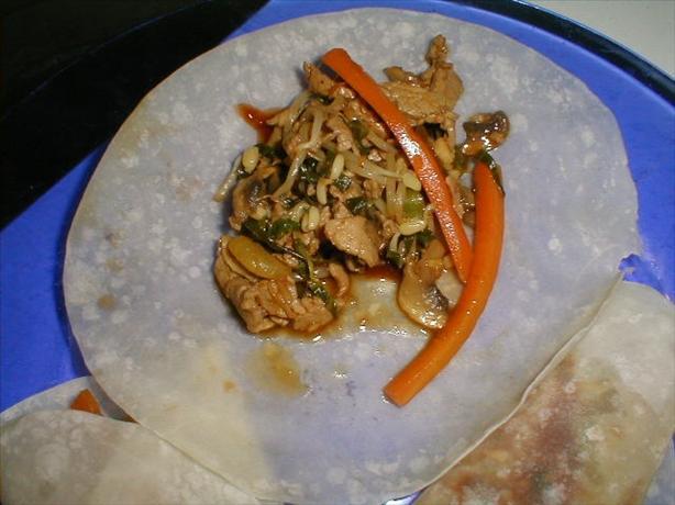 Mu Shu Pork and Mandarin Pancakes