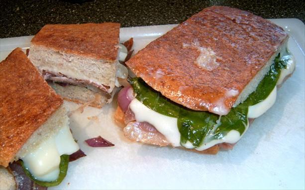 Prosciutto/Fontino Grilled Sandwiches