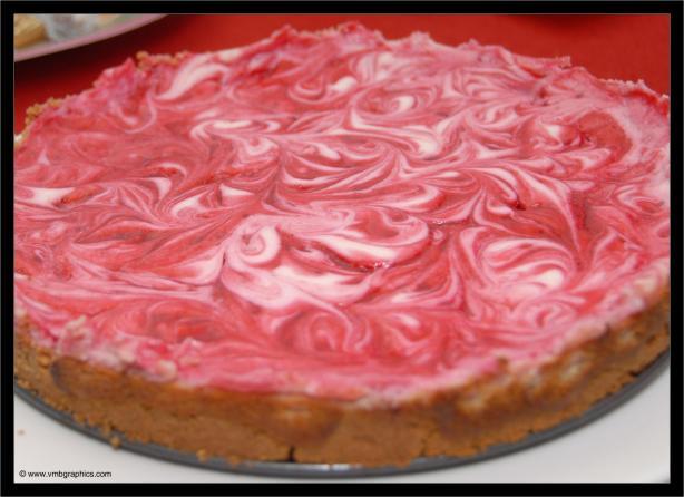 Vegan Cheesecake (Raspberry Swirl and Key Lime)