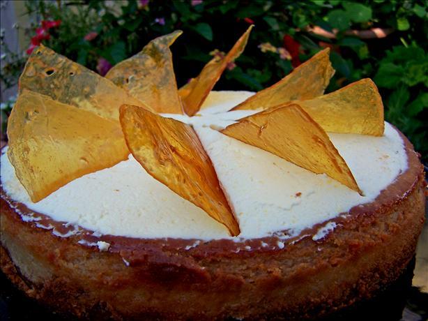 Rich Caramel Cheesecake