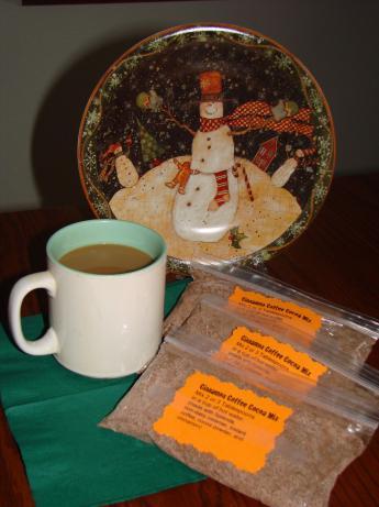 Cinnamon Coffee Cocoa Mix in a Jar