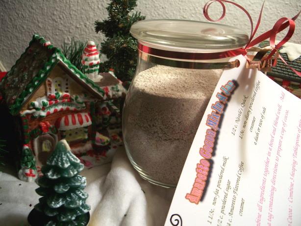 Amaretto Cocoa Mix in a Jar