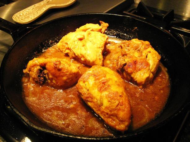 Onion Sauce Chicken