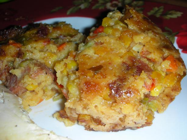 Stuffing for the Adventurous (Cuban-Style)