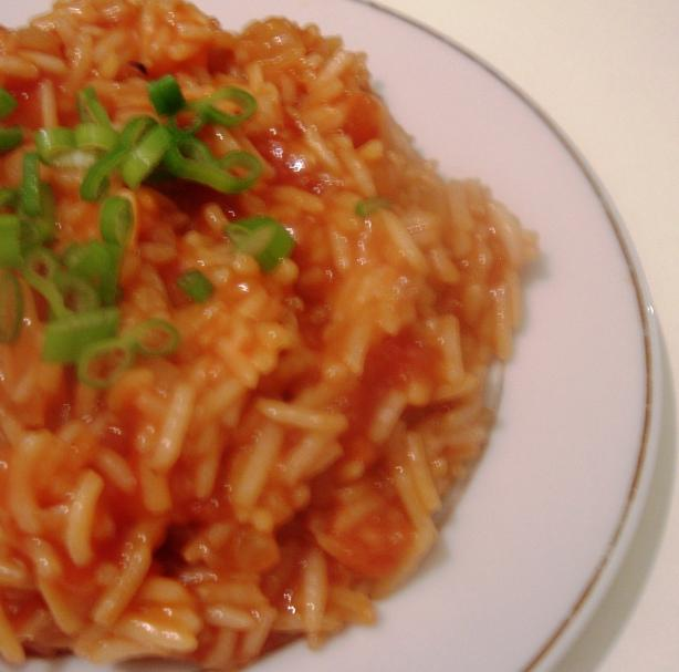 Fluffster's Spanish Rice