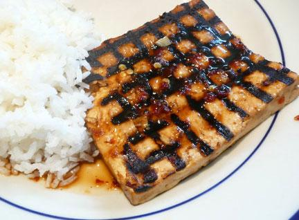 Spicy Grilled Tofu