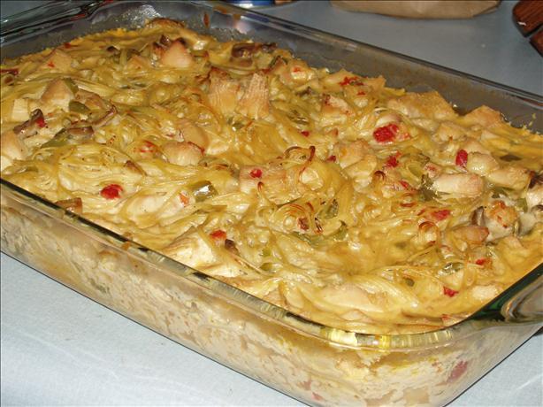 Ken Schrader's Chicken Spaghetti
