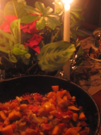 Old Bay Tilapia, Sweet Potatoes and Veggies