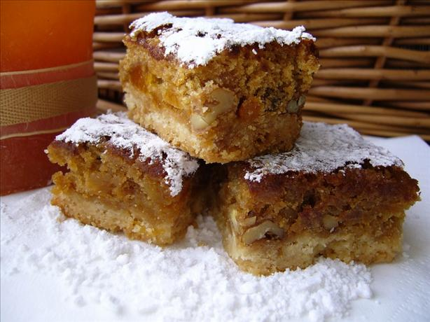 Apricot Bars With Shortbread Crust