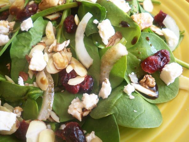 Craisins Spinach Salad
