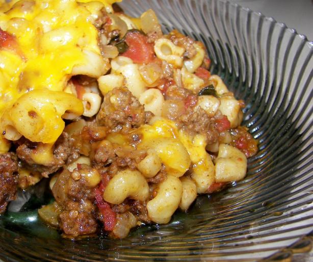 Italian Beef Macaroni