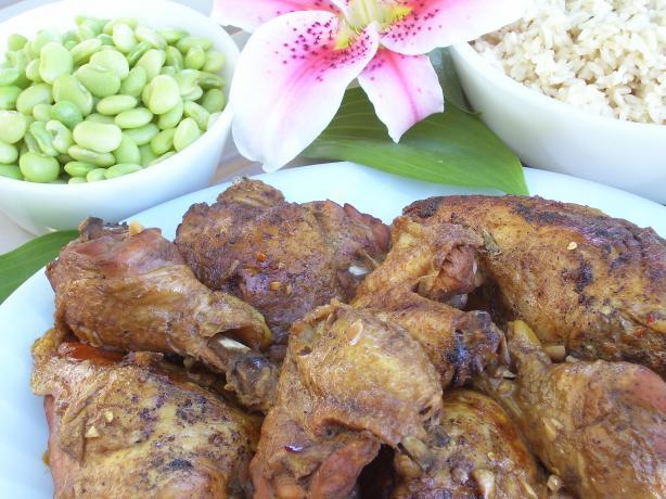 Mom's Filipino Chicken Adobo