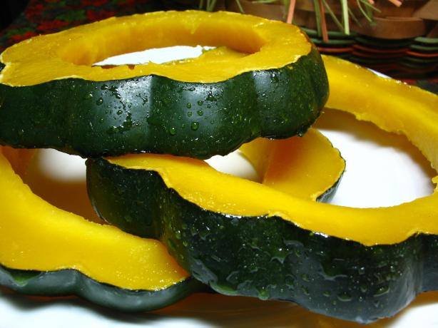 Glazed Squash Rings