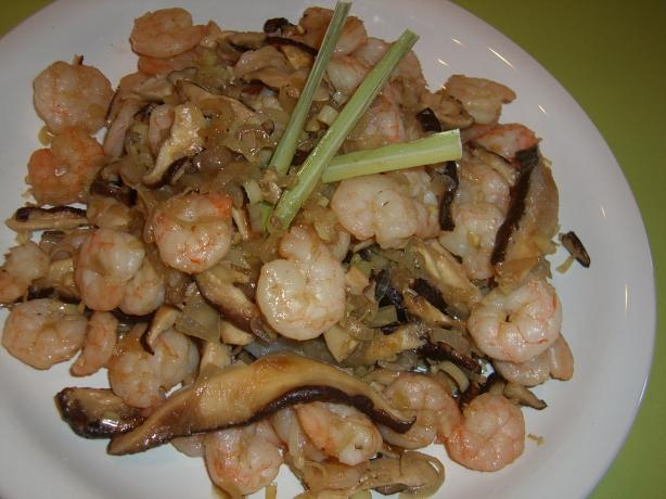 Warm Lemongrass Shrimp