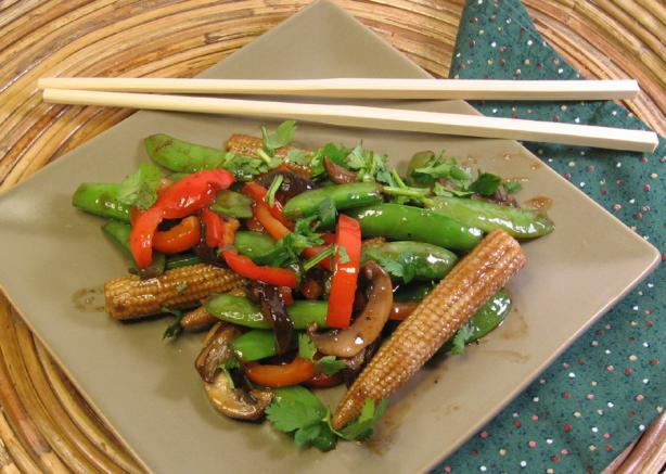 Thai Stir-Fried Vegetables