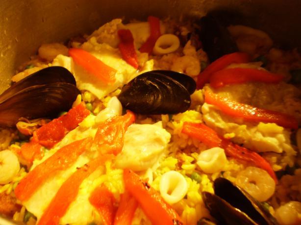 Seafood Paella (Avec Eric)