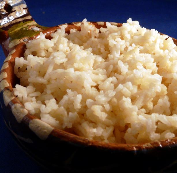 Rice Cooked in Coconut-(Wali Wa Nazi)