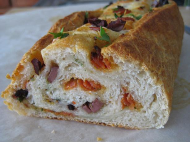 Pepperoni Bread (Using Refrigerator Loaf)