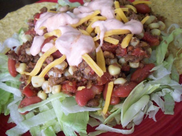 Quick Vegetarian Taco Salad