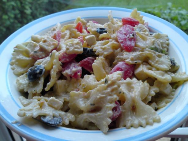 Penne Mediterranean Delight Salad - Diabetic Friendly