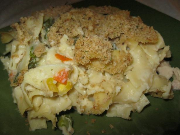 Thanksgiving Leftovers-Turkey Noodle Casserole