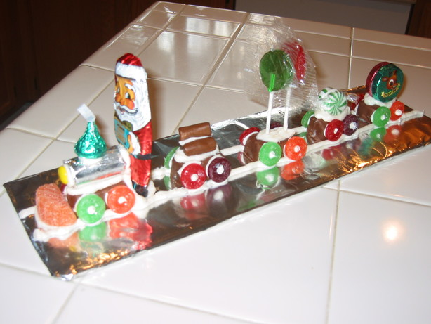 Candy Christmas Train
