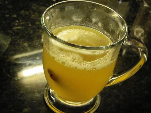 Hot Lemon Rum Toddy