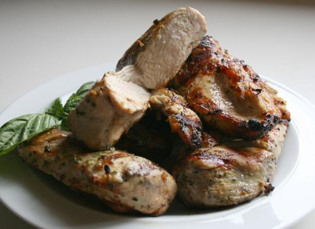 Low Carb Savory Italian Grilled Chicken